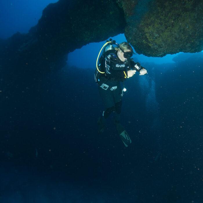 Night Scuba Diving Vallarta