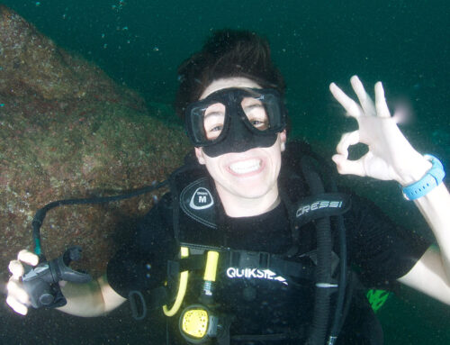Scuba Diving Makes People Happy Don't Worry be Happy! Go Dive Silent World Divers Puerto Vallarta