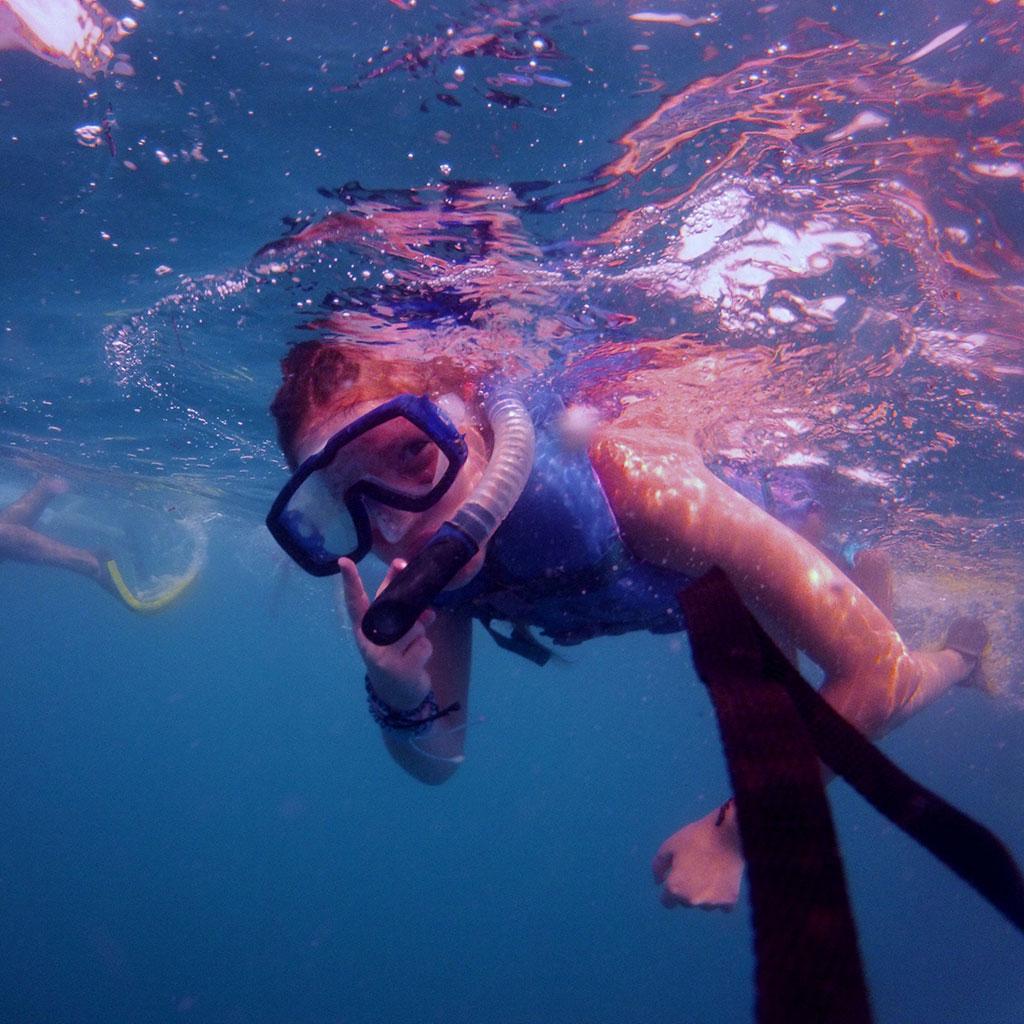 Snorkeling in Majahuitas